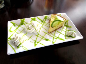 Key Lime Pie at Riversidehouse in Palmetto, Florida