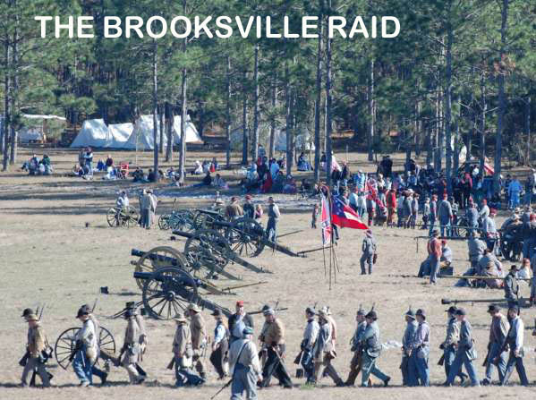 civil war: Battle of Brooksville