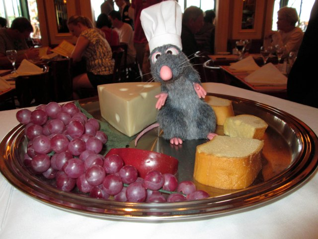 Remy of Ratatouille Makes Chefs de France A Treat
