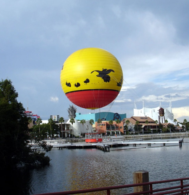 Downtown Disney Transformation to Disney Springs
