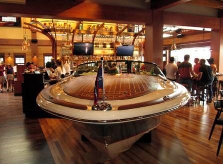 floridatraveler BOATHOUSE BAR with boat