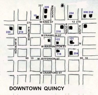 floridatraveler gadsden QUINCY-map