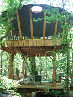 floridatraveler yurt treehouse itchetucknee river