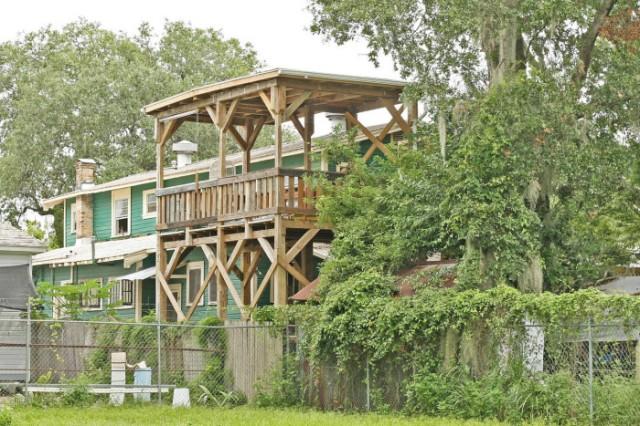 floridatraveler zen treehouse gainesville