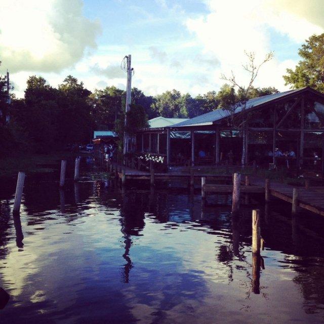 FLORIDATRAVELER clark fish camp outside