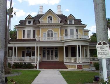 floridatraveler BURROUGHS house