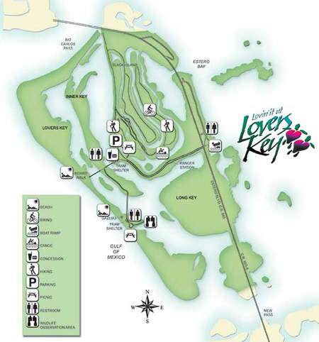 FLORIDATRAVELER-Lovers-Key-Parkmap