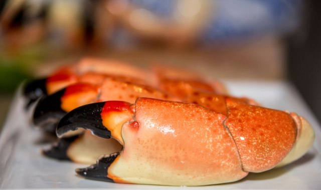 FLORIDATRAVELER fl stone crabs on table