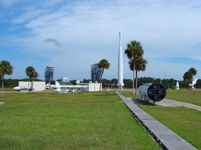 FLORIDATRAVELER rocket garden at airforce canaveral