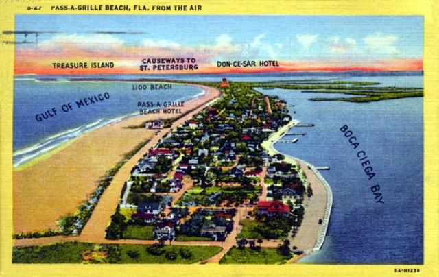 FLORIDATRAVELER passagrille-beachPOSTCARD