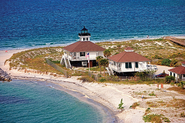 Boca Grande Lighthouse aerial (horizontal)