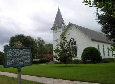 floridatraveler DADE CITY PRESBYTERIAN CHURCH