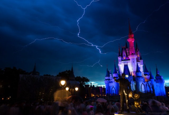 FLORIDATRAVELER lightning at disney