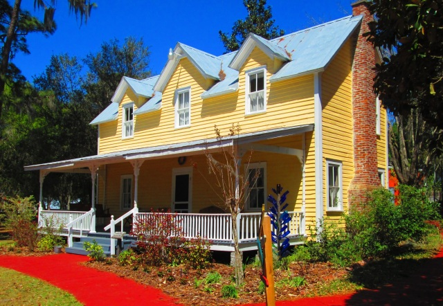 FLORIDATRAVELER pasco 1860 john overstreet house pioneer museum