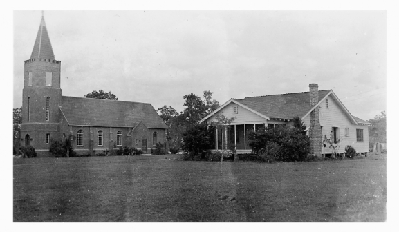floridatgraveler st lukes lutheran church 1939-Church-+-Parsonage