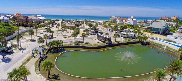 FLORIDATRAVELER camp gulf holiday travel park