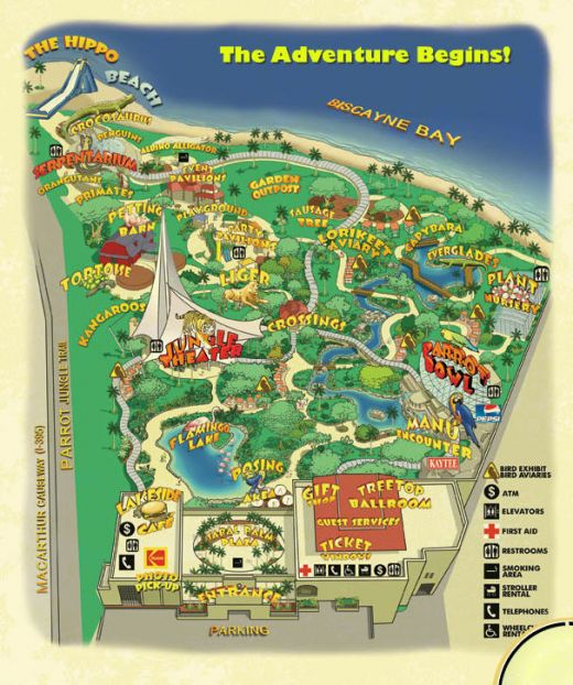 FLORIDATRAVELER JUNGLE ISLAND