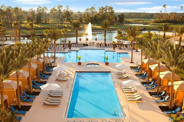 Floridatraveler WALDORF pools