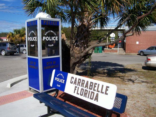 FLORIDATRAVELER Carrabelle Police Station