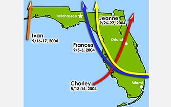 floridatraveler florida 2004 hurricanes