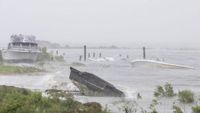 floridatraveler sunk boats-Hurricane-Hermine
