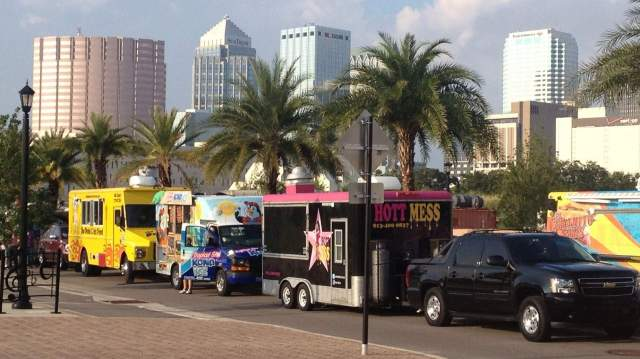 floridatraveler TAMPA FOOD TRUCK RALLY huge