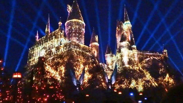 FLORIDATRAVELER Universal hogswart castle