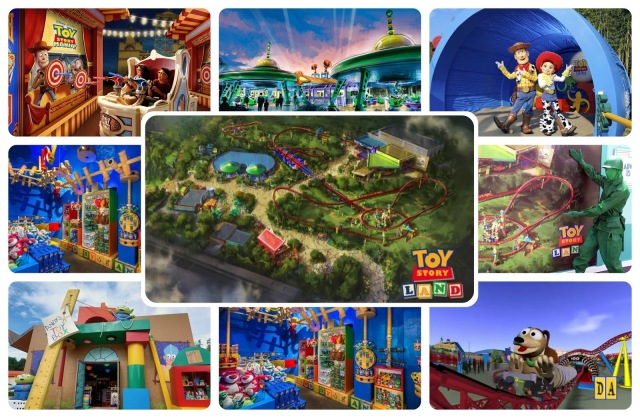FLORIDATRAVELER toy story land collage
