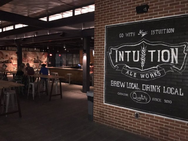 floridatraveler INTUITION ALE WORKS in jax