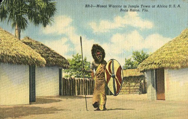 FLORIDATRAVELER Africa-USA zulu postcard