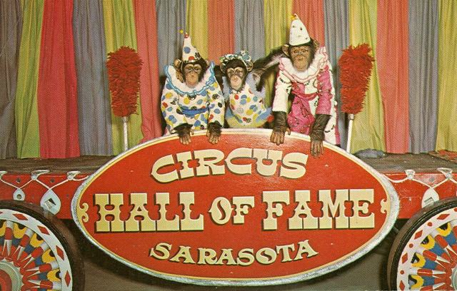 FLORIDATRAVELER Circus Hall of Fame poster