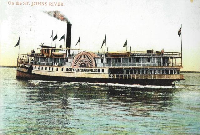 Floridatraveler city of jax 1909 deBary Merchant Line 160 by 32 459 tons