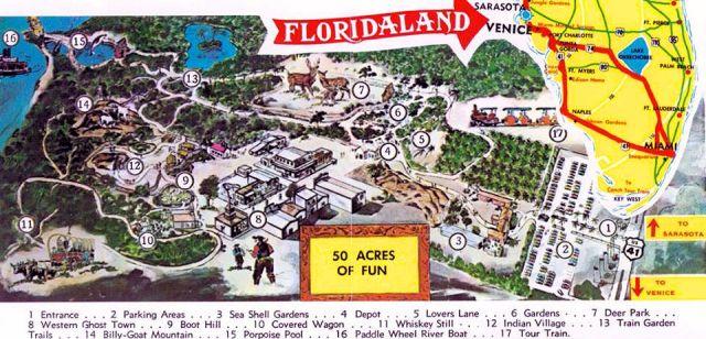 FLORIDATRAVELER Floridaland venice poster
