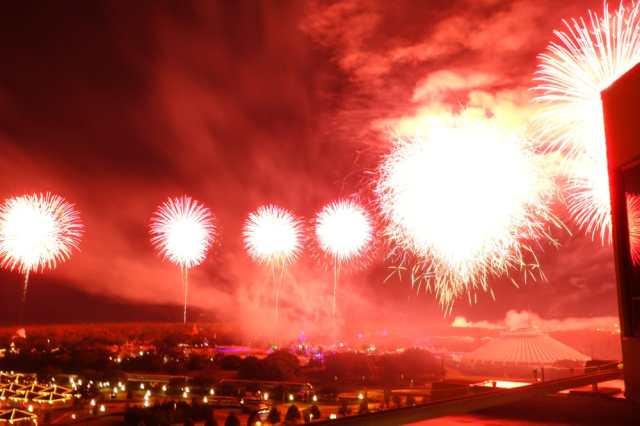 floridatraveler CALIFORNIA GRILL fireworks