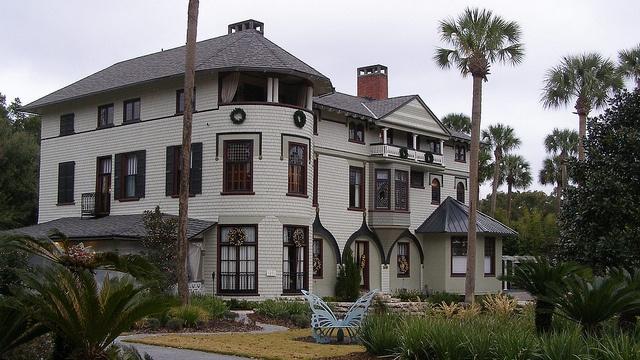 FLORIDATRAVELER Stetson Mansion deland