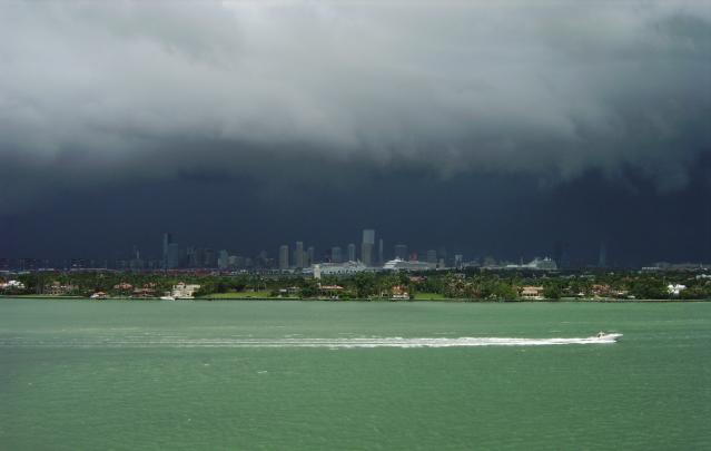 FLORIDATRAVELER -Miami summer shower July