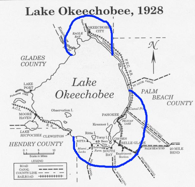 FLORIDATRAVELER flood zone 1928_Okeechobee_Flood