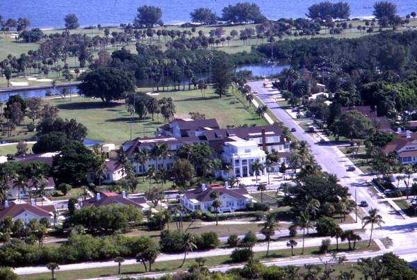 FLORIDATRAVELER boca grande inn from air