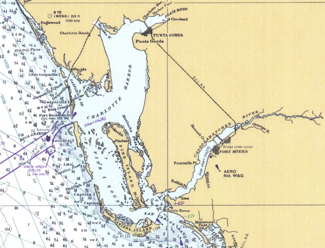 FLORIDATRAVELER charlotte harbor map