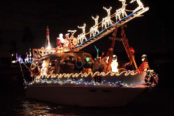 FLORIDATRAVELER Xmas boat show VENICE