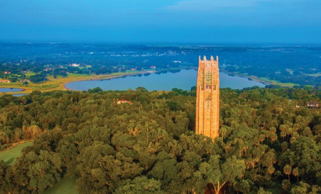 FLORIDATRAVELER Bok-Tower-Aerial-