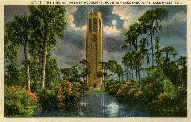 FLORIDATRAVELER Bok Tower postcard