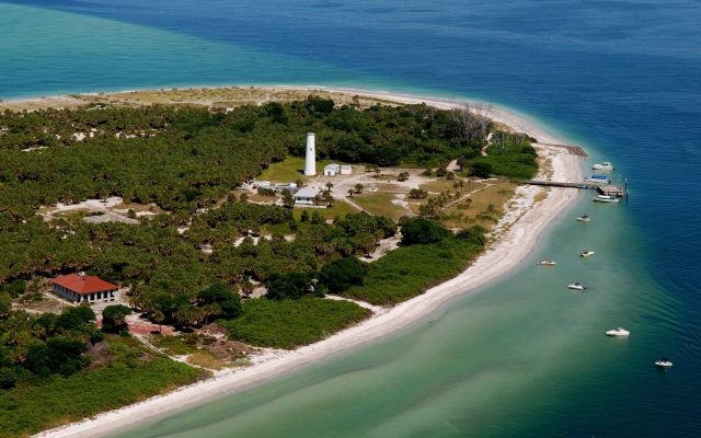 floridatraveler egmont key from air