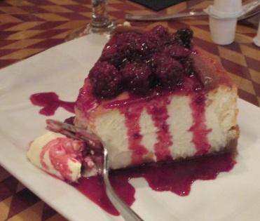 pasco dade city FOOD cafe kokopelli goat cheesecake