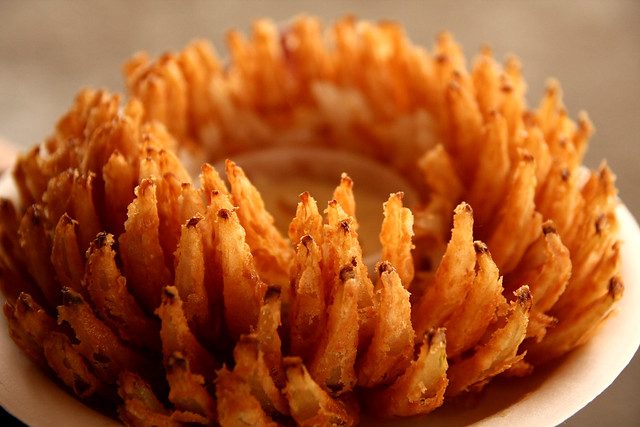 FLORIDA food BLOOMING ONION
