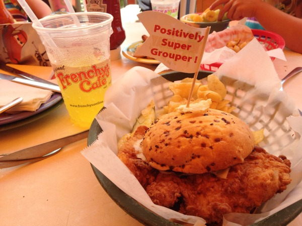 FLORIDATRAVELER food -Grouper-Sandwich