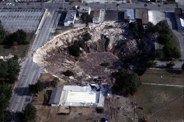 FLORIDATRAVELER 1981 sinkhole