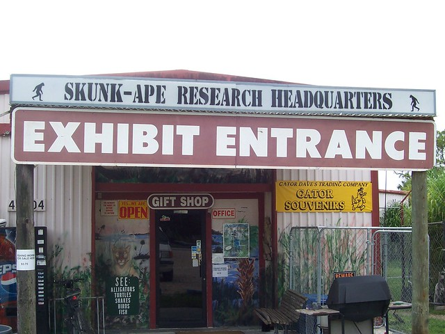 floridatraveler SKUNK APE HEADQUARTERS