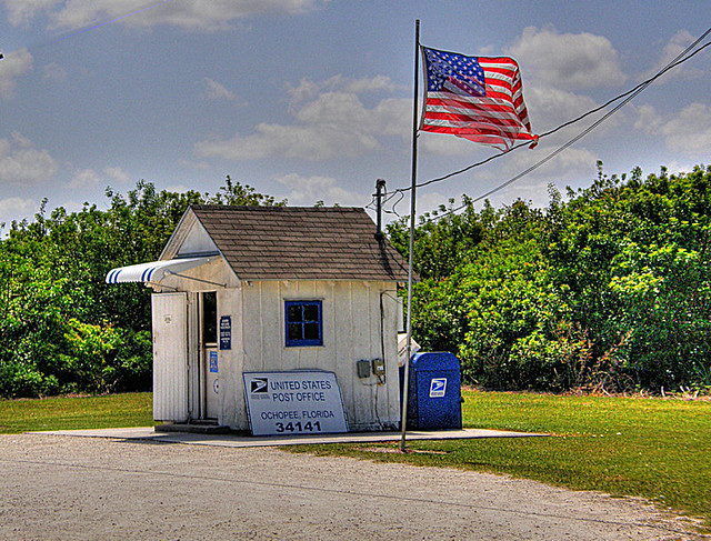 floridatraveler SMALLEST POST OFFICE