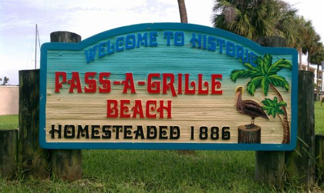 floridatraveler passagrille entrance sign